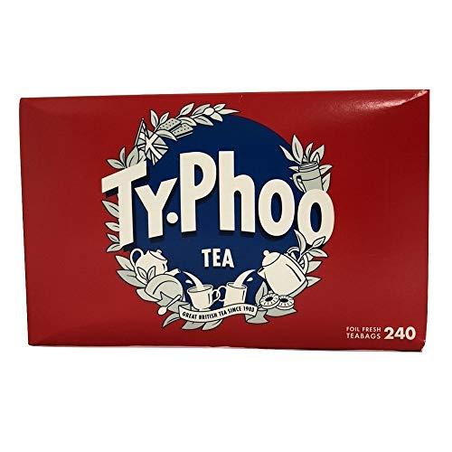 Typhoo Schwarztee 160 + 80 free