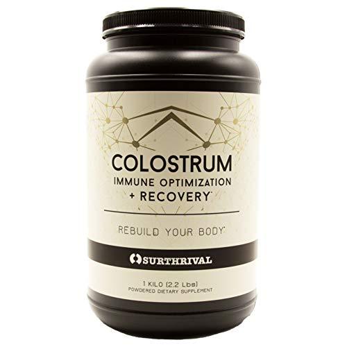 Surthrival: Colostrum Powder (1 Kilo, 2.2lbs),...
