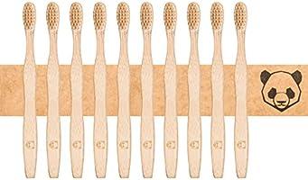 bambusliebe Zero Waste Tandenborstel van bamboe-viscose, duurzaam, milieuvriendelijk, antibacterieel, veganistisch,...