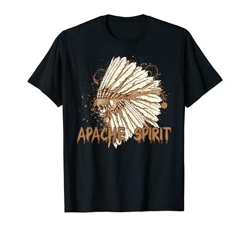 Apache - Disfraz de escalera de fantasma, divertido regalo de Halloween Camiseta