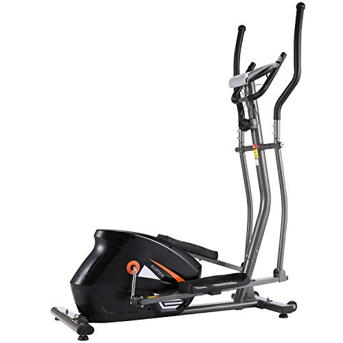 ANCHEER Elliptical Machine Cross Trainer, EM530 Cardio Fitness Equipment for Home Gym Use...