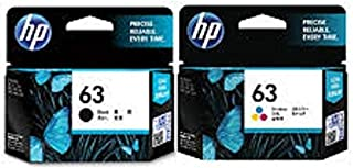 Hp Ink Cartridge 63 Combo (Black And Color)