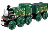 Il Trenino Thomas- Emily Treno in Legno, Giocattolo per Bambini 2 + Anni, GGG47