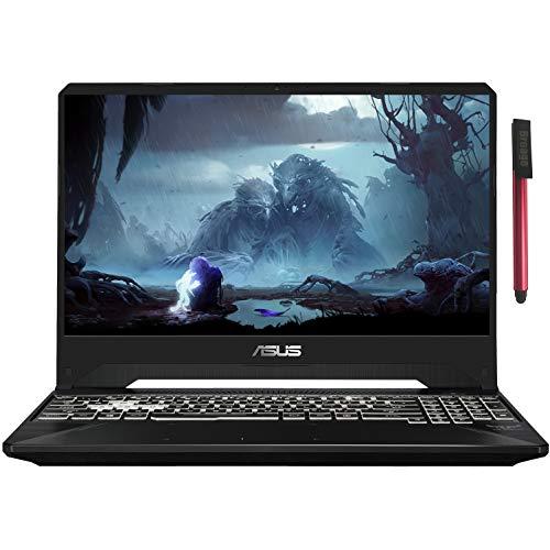 "ASUS TUF 15.6"" FHD 144Hz 5ms Gaming Laptop Computer, Intel Hexa-Core i7-9750H up to 4.5GHz, 64GB DDR4 RAM, 1TB PCIe SSD, NVIDIA GeForce GTX 1650, RGB Backlit KB, Windows 10, BROAGE 64GB Flash Drive"