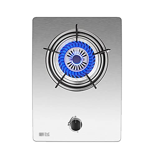 YXYY Estufa de Gas incorporada de 4.5KW Cocina portátil para el hogar 1 Quemador con protección contra fallas de Llama para GLP/GN [Clase energética A] (Color: A, Tamaño: GLP)