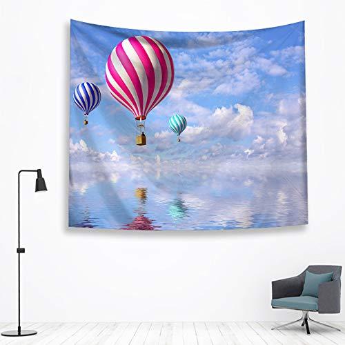BOBSUY Tapestry Halloween Kerstmis Hot Air Balloon Thuis Ophangen Schilderij Achtergrond Decoratieve Tapestry