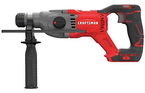 CRAFTSMAN V20 Hammer Drill, Cordless SDS + Rotary, Tool Only (CMCH233B)