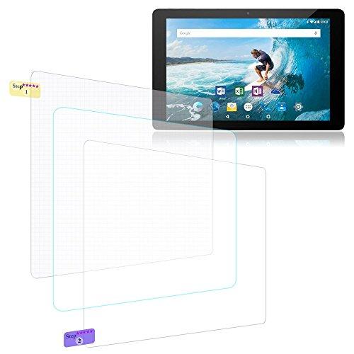 Bildschirmschutz Folie Odys Rise 10 - Space 10 Plus Schutzfolie 3X klar Universal