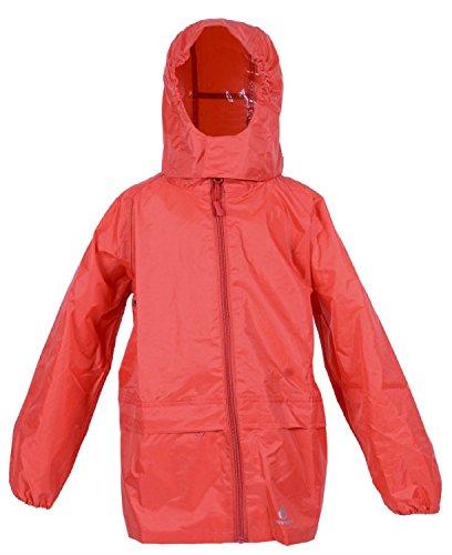 The MONOGRAM Group Ltd Dry Kids Packaway wasserdichte Jacke - Rot - 9/10 Jahre