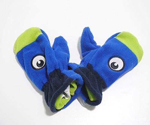 Children's Gloves Eye Monster Rocking Fleece Children's Gloves