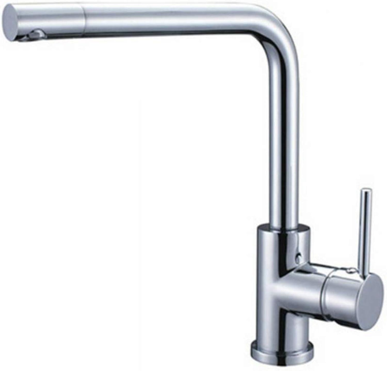 Taps Kitchen Basin Mixer Pull Out Mixerchrome Brass 360 Swivel Spout Taps Deck Mounted Vessel Sink Mixer Tap Kitchen Basin Sink Faucet Hot & Cold Mixer