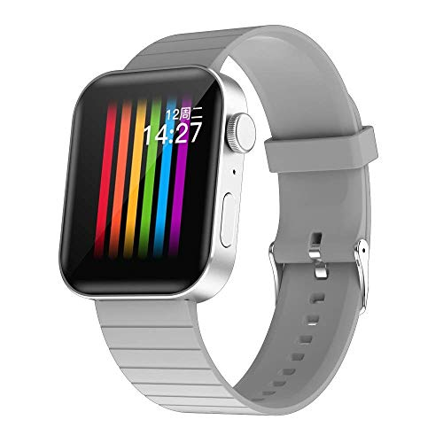 OH Pulsera Inteligente Bluetooth Watch Mobile Smart Reminder Pedómetro Android Y Ios Exquisito/Gris