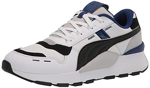 PUMA RS 2.0, Scarpe da Ginnastica Uomo, White Black Electrro Blue, 37.5 EU