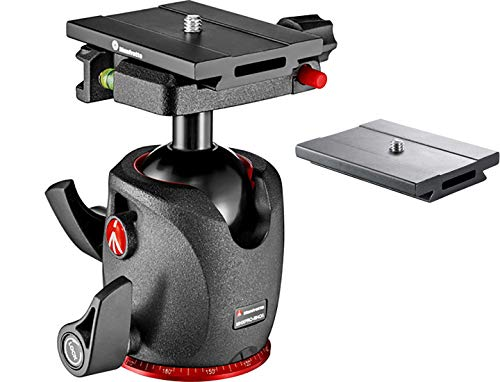 Manfrotto XPRO Magnesium Ball Head Bundled with ZAYKiR MSQ6PL Quick Release Plate