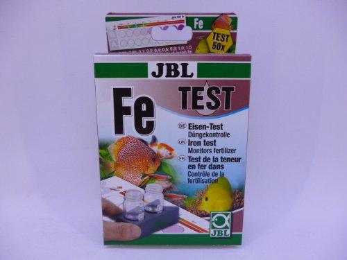 JBL ferro Test Set per impianti osmosi, dissalatore, Borosilicato Filtro