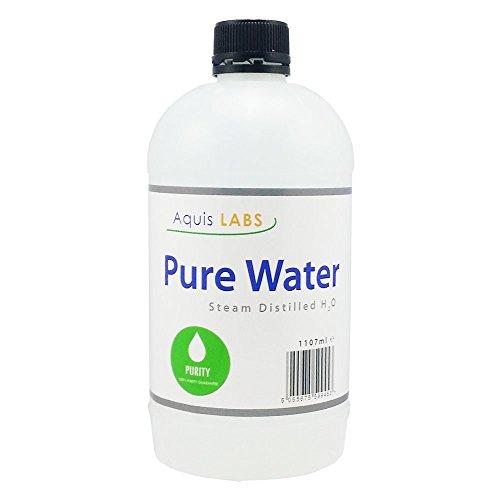 Destillerat vatten – 1107 ml – Ultra rent vatten