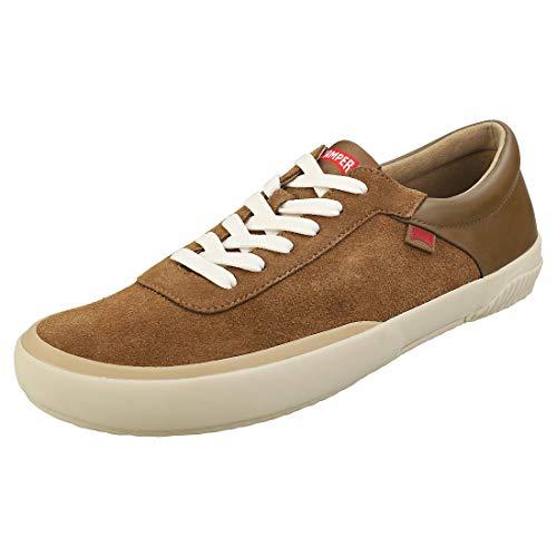 CAMPER Herren Peu Rambla Vulcanizado Sneaker, Braun (Medium Brown 210), 44 EU
