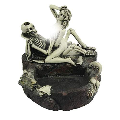 LQH Halloween de la Barra suministra el cenicero del cráneo