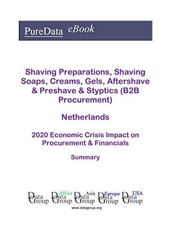 Shaving Preparations, Shaving Soaps, Creams, Gels, Aftershave & Preshave & Styptics (B2B Procurement) Netherlands Summary: 2020 Economic Crisis Impact on Revenues & Financials (English Edition)