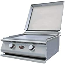 Cal Flame 089245002475 Outdoor Hibachi Drop in Grill, Stainless Steel