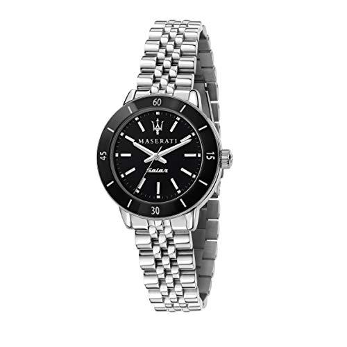 Maserati Reloj Mujer, Colección SUCCESSO Solar, Cuarzo, Solo Tiempo, en Acero - R8853145506