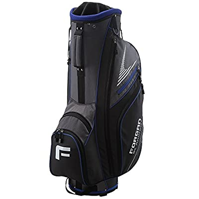 Forgan of St Andrews Super Lightweight Golf Cart Bag with 14 Club Dividers Blue