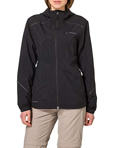 VAUDE Damen Jacke Women's Yaras Jacket IV, Black, 40, 42330