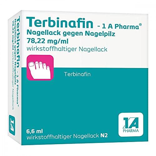 Terbinafin - 1 A Pharma Nagellack gegen Nagelpilz, 6.6 ml