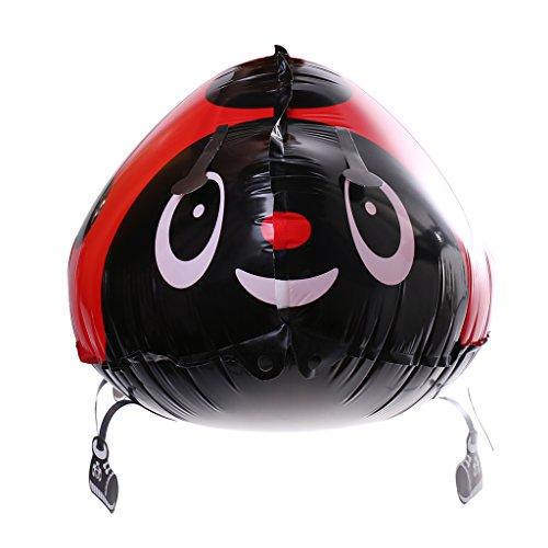 Phenovo Beatles Insecte Gonflable à Marcher Ballon Décoration Fête Mignons Jouets pour Enfants - rouge, Taille unique