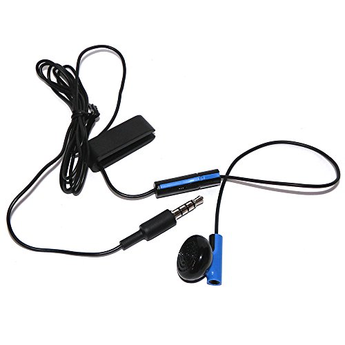 Official Headset Earbud Headphone Microphone Earpiece For Sony Playstation 4 PS4 (Original Version)