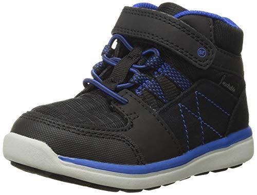 Stride Rite Made 2 Play Sneaker Winter Boot (Toddler/Little Kid), Black, 5 M US Toddler