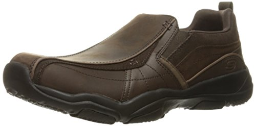 Skechers Mens Larson Berto Oiled Leather Casual Loafer Shoes