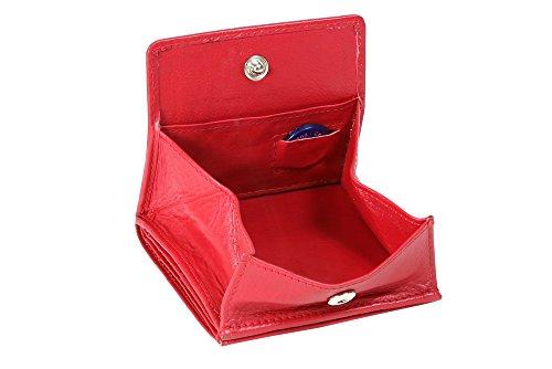 LEAS Wiener Schachtel mit großem Kleingeldfach, Cherry/rot Special Edition