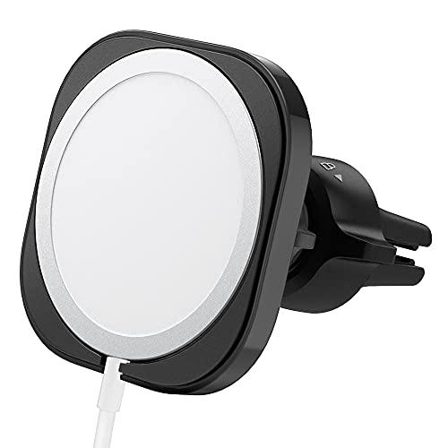 Spigen Mag Fit autohalterung hülle ständer entwickelt für iPhone 13/13 Mini/12/pro/mini Magsafe ladegerät autohalterung hülle ständer zubehör- Ladegerät nicht im Lieferumfang enthalten