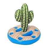 Tenedor De Bebida Inflable, Forma De Cactus Bebida Flotadores Verano Playa Ocio Titular De La Botella