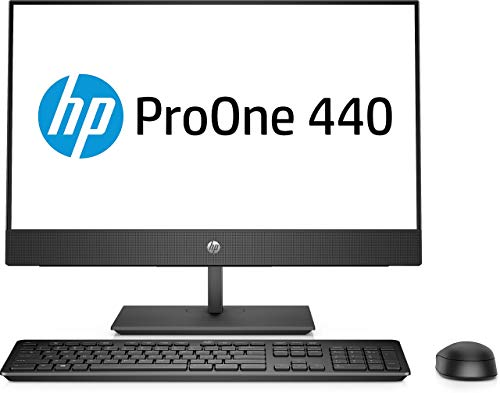 HP ProOne 440 G4 (23.8 Inch) All-In-One Business PC Core i5 (8500T) 2.1GHz 8GB 1TB WLAN Windows 10 Pro (UHD Graphics 630) (Refurbished)