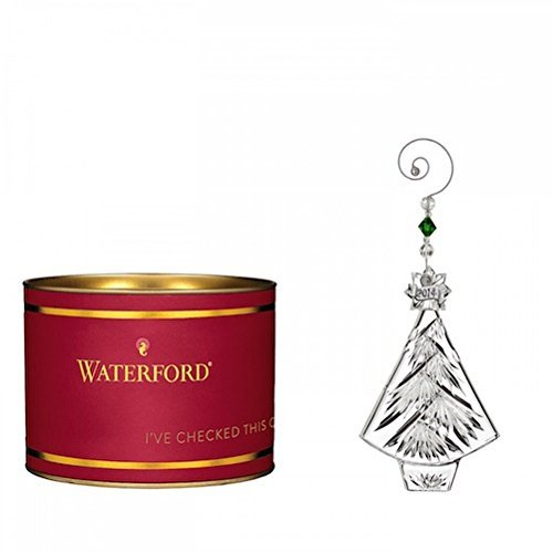 Waterford Crystal Giftology Collection Christmas Tree Ornament 2014 by Waterford