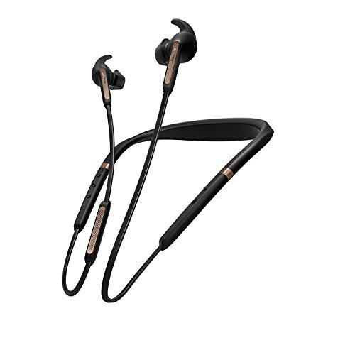 Jabra Elite 65e Copper Black Neckband Headphones (Renewed)