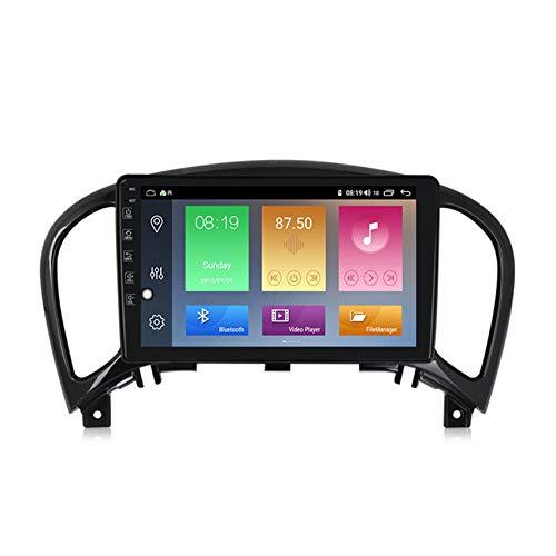 ADMLZQQ Android 10.0 Autoradio 2DIN Vivavoce Bluetooth Supporto GPS Carplay+DSP(M300/PX6) Comandi al Volante Collegamento Mirror per Nissan Juke 2010-2014 Stereo Auto,Low Configuration,3+32G