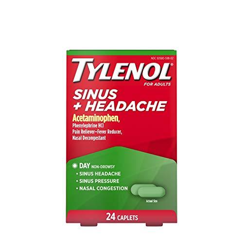 Comprimidos para congestión nasal y alivio de los síntomas de la alergia, de Tylenol, JJ-2320, Día, 1, 1