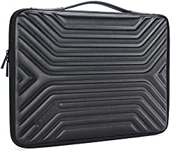 DOMISO 17 Inch Shockproof Waterproof Laptop Sleeve with Handle Lightweight Soft EVA Tablet Protective Case Bag for 17-17.3