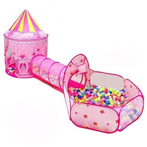 SHWYSHOP Túnel de tienda para niños, túnel de tienda pop-up, bolsas de almacenamiento con cremallera para uso interior y exterior, como regalo para niños