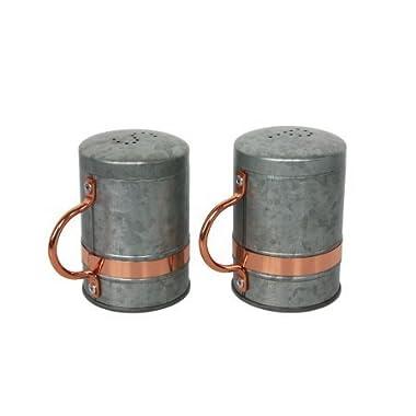 Better Homes & Gardens Galvanized and Copper Salt and Pepper Shaker Set