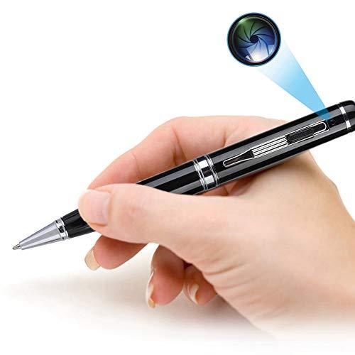 Cámara con bolígrafo escondido, microcámaras espía, videocámara HD 1080p, mini videocámara portátil...