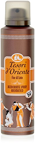 Tesori D'Oriente - Desodorante en spray Loto, 150 ml