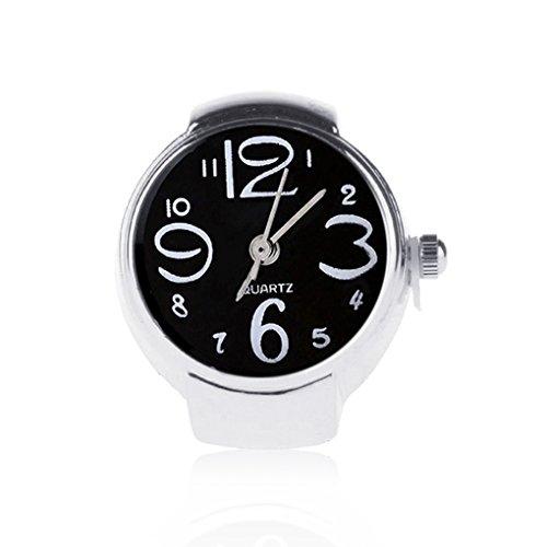 Bobury Anello con l'orologio delle Donne di Modo Regali registrabili del Regalo della Signora dei monili dell'anello della barretta del Quarzo allungabile