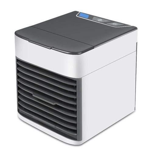 Mini Ar Condicionado De Mesa Purificador Climatiza Portátil