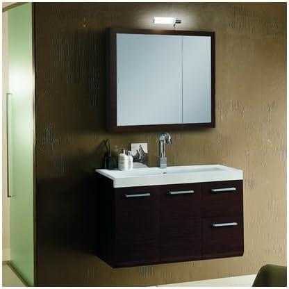 Iotti LE1-Wenge-637509911829 Linear El Paso Mall Collection Vanity Bathroom Max 88% OFF