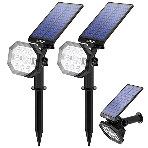 AISITIN Luce Solare da Esterno, 22 LED Lampade...