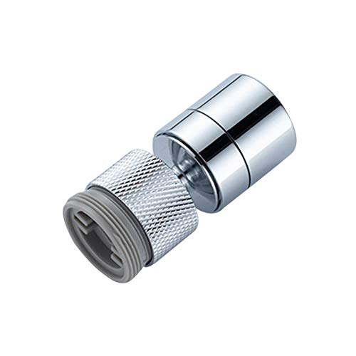 360°rotating faucet aerator, kitchen sink aerator, honeycomb water outlet, dual-adjustment mode water saver, used in home kitchen